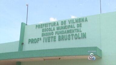 Aulas de escola interditada em Vilhena devem retornar na segunda-feira, 14 - Instituição foi interditada por problemas na parte elétrica e infiltrações.