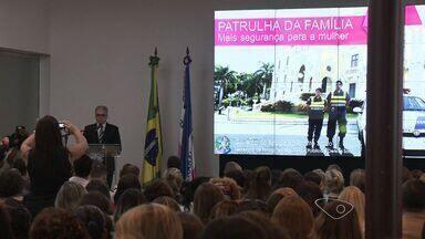 Patrulha Mulher: Projeto estadual busca combater casos de violência contra mulher no ES - Espírito Santo ainda é o segundo estado em que mais se mata mulheres no país. Em 2014 uma mulher foi agredida a cada 5 horas no estado.