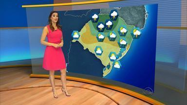 Chuva chega em regiões do RS nesta quarta-feira (9) - Máxima de 27ºC em Porto Alegre.