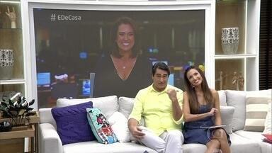 Renata Capucci traz as principais notícias do 'Jornal Hoje' para o 'É de Casa' - Cobertura das chuvas em São Paulo é destaque
