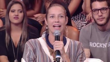 Luana Piovani fala sobre a decisão de posar nua com quase 40 anos - Atriz faz parte do juri do 'Jovens Inventores'