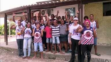 Conheça a história de Érica, personagem do Mandando Bem - A personagem deste sábado tem uma escola de barbeiros no bairro de Campo Grande, no Rio de Janeiro