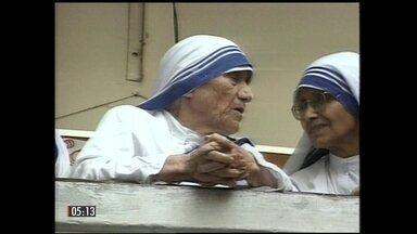 Papa Francisco anuncia a data da canonização de Madre Teresa - Foi o reconhecimento de um milagre ocorrido com um brasileiro que abriu caminho para a canonização de Madre Teresa de Calcutá.
