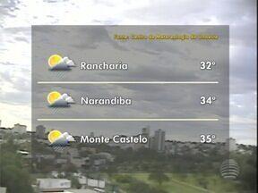 Meteorologia prevê chuva para esta terça-feira na região - Veja como fica o tempo em algumas cidades do Oeste Paulista.