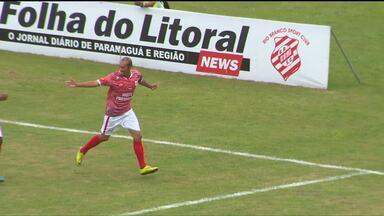 """O """"cara"""" do GE é um artilheiro do litoral - Ratinho, do Rio Branco, marcou dois gols e comandou a reação do Leão da Estradinha em uma rodada cheia de lances inusitados"""