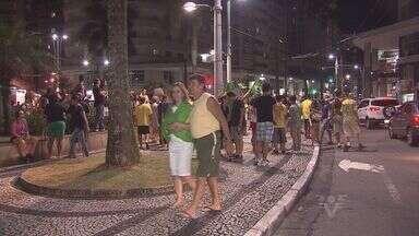 Moradores de Santos fazem panelaço contra o governo - Manifestações aconteceram nesta quarta (16) e quinta-feira (17), quando ex-presidente foi indicado como ministro da Casa Civil.