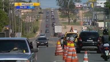 Prefeitura de Içara embarga obra de via rápida no Sul do estado - Prefeitura de Içara embarga obra de via rápida no Sul do estado