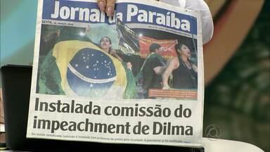 Manifestantes fazem 'buzinaço' nas avenidas de João Pessoa - Manifestação ocorreu no cruzamento das avenidas Ruy Carneiro e Epitácio Pessoa.
