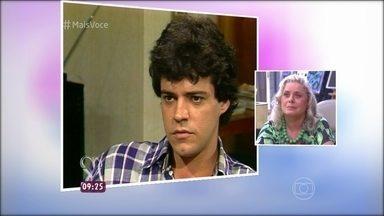 Vera Fischer conta como conheceu Felipe Camargo - Atriz contracenou com Felipe na novela 'Mandala', em 1987. Na mesma trama, também trabalhava Perry Salles, marido de Vera na época