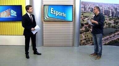 Thiago Barbosa apresenta os destaques do esporte em Sergipe - Thiago Barbosa apresenta os destaques do esporte em Sergipe.