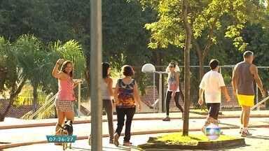 Projeto Caminhar deste fim de semana será na Praça Tancredo Neves, em Contagem - As atividades vão ser sábado e domingo e começam às 8h.