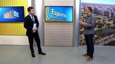 Thiago Barbosa apresenta as principais notícias do esporte em Sergipe - Thiago Barbosa apresenta as principais notícias do esporte em Sergipe.