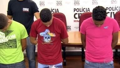 Quatro homens são presos suspeito de assassinato em Belo Horizonte - Crime aconteceu no dia 8 de fevereiro no bairro Heliópolis.