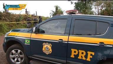 Polícia cumpre reintegração de posse em Laranjeiras do Sul - Terras foram invadidas por índios, que expulsaram os moradores