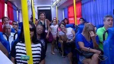 Ônibus percorre o país com vídeos de educação no trânsito, no ES - Veículo é da Polícia Rodoviária Federal.