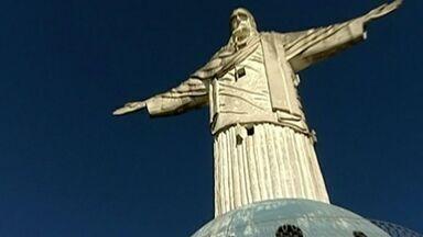 Cristo Redentor de Colatina vai passar por reforma, no ES - O ponto turístico está interditado desde 2012.