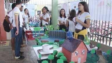 Estudantes de Ariquemes apresentam ideias para evitar o desperdício de água - Escola pública promoveu exposição para promover as ideias dos alunos.