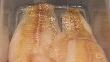 Peixes congelados podem ter excesso de sódio - Em estudo realizado em nove marcas de filé de polaca congelada, sete foram reprovadas, por sódio em excesso.