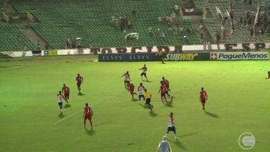 River-PI perde para o Fortaleza e é eliminado na Copa do Nordeste - River-PI perde para o Fortaleza e é eliminado na Copa do Nordeste