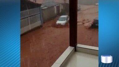 Em Paraibuna teve chuva de granizo - Telespectadores mandaram flagrante pelo Vanguarda Repórter.
