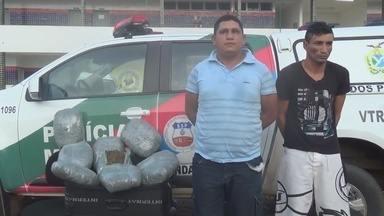 Homens são presos com drogas em Itacoatiara, no AM - 9 kg foram apreendidos no município.