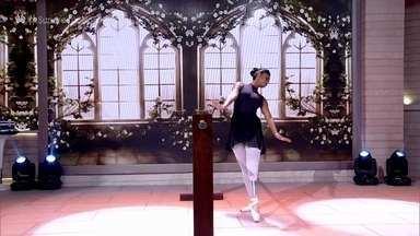 Mel superou acidente e dança balé com prótese - Fisioterapeuta explica como funciona prótese usada pela bailarina