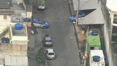 Tiroteio assusta moradores da favela do Jacarezinho - O policiamento está reforçado, na comunidade.