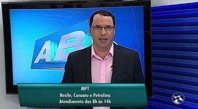 Unidades do Ministério Público do Trabalho funcionam em horário diferenciado - Novo horário de atendimento vale para as unidades de Caruaru, Petrolina e Recife.