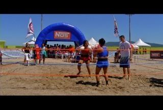 Boxe na areia agita Fest Verão em São Pedro da Aldeia, no RJ - Competições seguem no mês de abril.