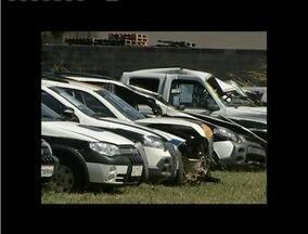 Leilão de veículos será realizado em Governador Valadares - No total, 118 veículos, das polícias Militar e Civil, podem ser adquiridos.