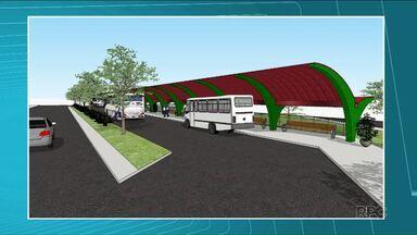 Moradores de Cambé vão ganhar novo Terminal de Ônibus - O local onde o terminal de transporte coletivo vai ser construído já está sendo limpo. O novo terminal deve dar mais conforto aos passageiros e a previsão é que fique pronto até setembro.
