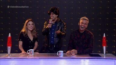 Rick Matarazzo transforma Vídeo Show em 'Balada Vip' - O apresentador mais chique do Tá no Ar invade o programa e critica a pobreza do estúdio