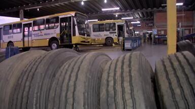 Usuários denunciam más condições de pneus de ônibus na capital - Usuários denunciam más condições de pneus de ônibus na capital