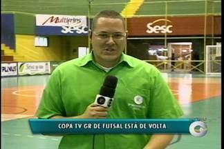 Depois de um pequeno recesso os jogos da Copa TV GR voltam nesta terça-feira - E hoje tem partida do sub 14 e da categoria adulta entre Portal da Cidade e Santa Luzia