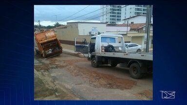 Motoristas reclamam da falta de infraestrutura em ruas de São Luís - Motoristas reclamam da falta de infraestrutura em ruas de São Luís