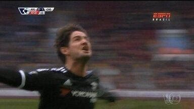 Pato e Jonas brilham na rodada do futebol europeu - Pato estreou pelo Chelsea marcando gol