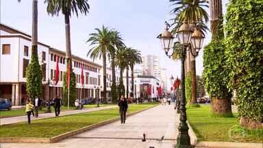 Marrocos, o reino encantado dos sons, das cores e dos contrastes - No Reino do Marrocos, país muçulmano que fica no norte da África e tem 30 milhões de habitantes, o novo e o tradicional se misturam.