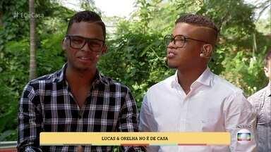 Lucas & Orelha falam sobre o SuperStar e cantam 'Sonhar' - Os dois contam como a vida mudou desde a vitória na última temporada do reality