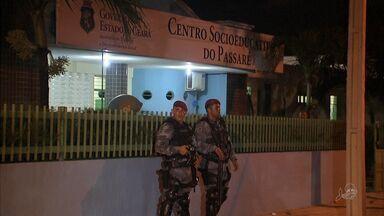 Jovens infratores fazem motim em Centro Educacional de Fortaleza - Confusão foi registrada no Patativa do Assaré.