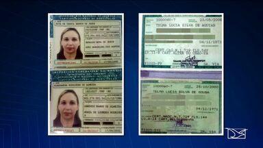 Mulher suspeita de estelionato é presa em São Luís - Mulher suspeita de estelionato é presa em São Luís.