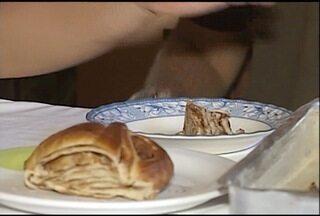 Inter TV Rural ensina a fazer rosca de canela - Rosca demora 25 minutos para assar.