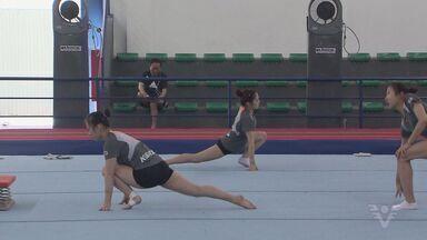 Santos recebe atletas estrangeiros que tentam vagas nas Olimpíadas - A cidade recebeu as equipes de ginástica artística de diversos países que tentam vaga no Aquece Rio, que acontece ainda este mês.