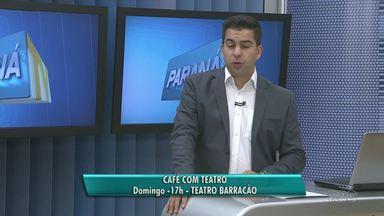 Café com Teatro neste domingo terá quarenta atrações - Será a partir das 17 horas, no Teatro Barracão na Praça da Bíblia.