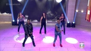 Fátima e Fernanda de Freitas dançam hit de Ludmilla - Apresentadora aceita desafio da cantora e se apresenta no palco do 'Encontro'