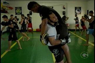 Equipe de Boxe Chinês de Petrolina participa de competição em Alagoas - Dos 13 atletas da delegação, três disputam na categoria profissional. Esta é a 2ª vez que a equipe participa do evento.