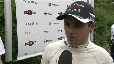 Felipe Massa tem problemas no primeiro treino livre antes do GP da China - Felipe Massa tem problemas no primeiro treino livre antes do GP da China