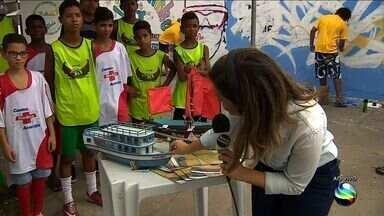 Projeto Pescando Memórias é realizado em São Cristóvão - Projeto Pescando Memórias é realizado em São Cristóvão.