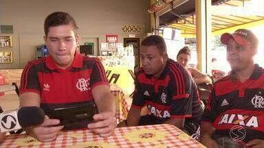 Levantamento aponta que Flamengo é o time mais popular do Sul do Rio - Em Resende, RJ, torcedores contam o que motiva a paixão pelo clube Rubro-Negro.