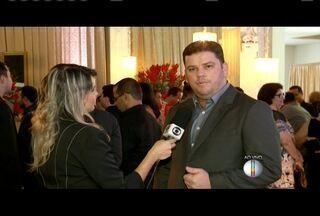 Diretor do núcleo Minas, Éder Luiz Alves, destaca as novidades para a Inter TV dos Vales - Cerimônia marca início da nova era da emissora.