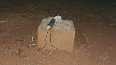 Grupo antibomba encontra dinamite abandonada em Artur Nogueira - O explosivo foi abandonado dentro de uma sacola na Rua Duque de Caxias.